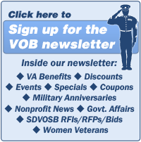 Click here to sign up for the VOB Newsletter.