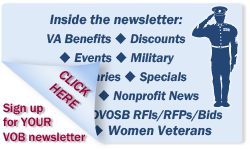 Sign Up for your VOB Newsletter
